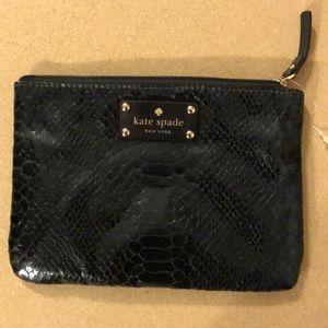 KATE SPADE faux snake bag